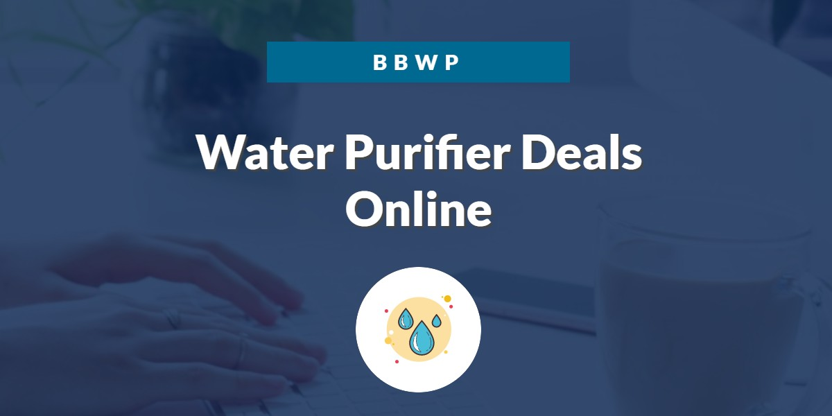 Amazon Great Indian Sale 2020 Water Purifier Offers 1